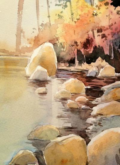 Al borde del rio